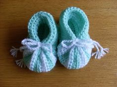 Patroon baby slofjes met 2 kleuren - Forum - Hobbydoos.nl