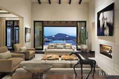 A Contemporary Sprawling Scottsdale Desert Retreat   LuxeWorthy - Design Insight from the Editors of Luxe Interiors + Design