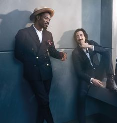 Andre 3000 and Adrian Brody