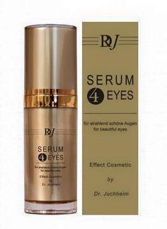Serum 4 Eyes 15 ml Turboeffekt für strahlend schöne Augen - gegen Schwellungen, Augenschatten, Fältchen. Bringt Ihre Augen wieder zum Strahlen. Die perfekt aufeinander abgestimmte Kombination der Peptide bewirkt den Turbo-Effekt. Neuropeptide können Ober- und Unterlider straffen. Eine Kombination weiterer Peptide fördert die Synthese von Collagen und elastischen Fasern. Spezial-Peptide helfen das Erscheinungsbild von Schwellungen,  Augenschatten und Fältchen zu verbessern.