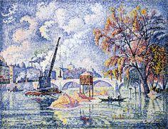 Inondation au Pont-Royal de Paris (1926)
