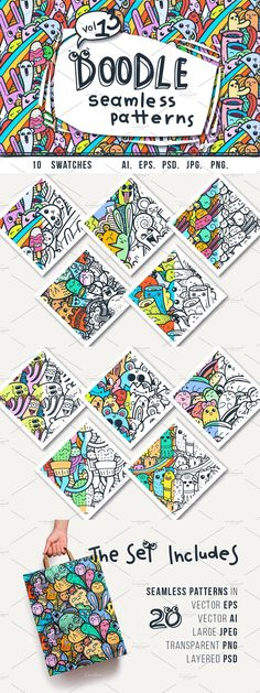 Hipster Design, Doodle Patterns, Cute Doodles, Printed Shirts, Printing On Fabric, Coloring Pages, Swatch, Adobe Photoshop, Quilts