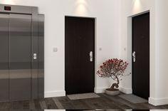 Spheris HiS - Alliance Concept Sécurité Lyon Tall Cabinet Storage, Lyon, Furniture, Madrid, Home Decor, Model, Dark Doors, Safety Gates, Staircases
