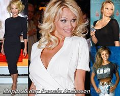 Super hot Canadian star Pamela Anderson's birthday is today.  Wishing her a very Happy Bday.