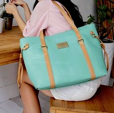 Mint Beach Bag!
