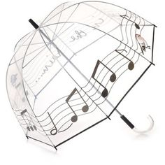 Felix Rey Singing In the Rain Clear Umbrella - Polyvore