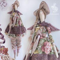 Купить или заказать Интерьерная кукла Тильда Одэт в интернет-магазине на Ярмарке Мастеров. Тильдочка Одэт (рост 67 см) Мадам в шляпке, с крылышками и платьем расшитыми бисером и, конечно же, панталончиках будет стильным дополнением к интерьеру или памятным…