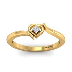 The Awesome Heart Ring, Buy Awesome Heart Ring Online Gold Designs, Ring Designs, Heart Shaped Rings, Heart Ring, Wedding Ring Bands, Wedding Jewelry, Dimond Ring, Gold Girl, Saree Jewellery