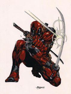 ✭ Deadpool - Sean's favorite comic book hero