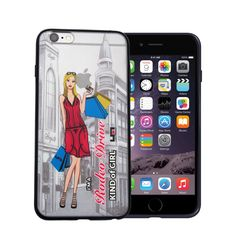 """Ultra thin iPhone case. Unique """"Rodeo Drive Girl"""" design exclusive to Lizzy Marino. Compatible with the iPhone 6s, 6sPlus, 6 and 6 plus. Wanna learn more? Check us out."""