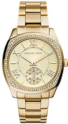 Women's Wrist Watches - Michael Kors Womens Bryn GoldTone Watch MK6134 -- Find out more about the great product at the image link. (This is an Amazon affiliate link)