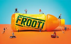Frooti Campaign on Behance