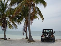 Jeep in paradise!