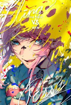 ramuda x doppo Manga Art, Manga Anime, Anime Art, Battle Rap, Manga Covers, Animes Wallpapers, Anime Style, Aesthetic Art, Anime Guys