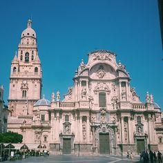#Catedral #Murcia #Plaza #Belluga  #Summer #Sun #instaplaces #instatravel #murciagrafias  #MurciaMola