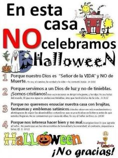 NO celebramos Halloween