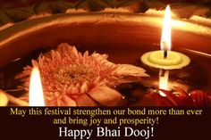 Celebrate your bonding with your siblings and convey your heartfelt wishes on this beautiful festival of Bhai Dooj... Happy Bhai Dooj!! Happy Bhai Dooj Wishes HAPPY BHAI DOOJ WISHES | IN.PINTEREST.COM FESTIVAL EDUCRATSWEB