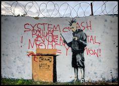 Banksy kommt nicht mal dadurch aus der Mode, dass er zum Trend geworden ist.