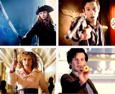 Yep. The Doctor is definitely the most dangerous being in the universe. XD