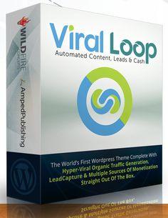 Viral Loop- The Ultimate Viral WordPress Theme Automated Content, Leads & Cash http://internetmarketingandbussiness.com/wordpress-themeplugin/viral-loop-ultimate-viral-wordpress-theme.html
