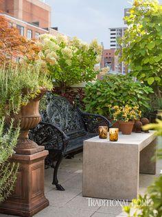 Look Inside Tim Gunns Refined New York Apartment via @MyDomaine