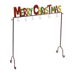 Red and Green Merry Christmas Stocking Holder | Kirklands