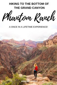 The Phantom Ranch Hike, our guide to a once in a lifetime experience: what to expect, how to book a spot at Phantom Ranch, why it is so special and everything you need to know about hiking to the bottom of the Grand Canyon. Usa Travel Guide, Travel Usa, Travel Guides, Travel Tips, Travel Destinations, Beach Travel, Travel Advice, Budget Travel, Arches National Park Hikes