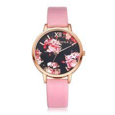 7c9bf0dd9f78 High Quality Fashion Leather Strap Rose Gold Women Watch Casual Love Heart  Quartz Wrist Watch Women Dress Ladies Luxury Watches