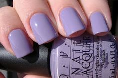 OPI Do You Lilac It?   One of my favorites. Awesome spring and summer color. And looks great with black and pink cheetah print. 5/5