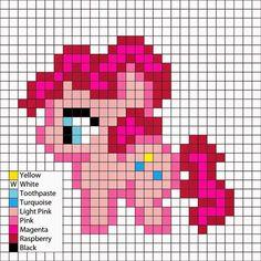 Perler Mania: My Little Pony, Friendship is Magic: Pinkie Pie
