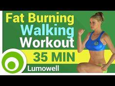 Fat Burning Walking Workout - YouTube