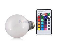 Remote Control color-changing Light Bulb!