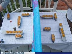 giant battleship game - this one is for doing shots but could change that. Battleshots