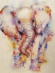 DIY Diamond Painting Elephant Diamond Mosaic Picture Of Rhinestones Flower Diamond Embroidery Elephant Art, Elephant Tattoos, Animal Tattoos, Elephant Watercolor, Baby Elephant, Elephant Drawings, Cute Elephant Drawing, Animal Drawings, Baby Drawing