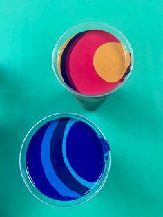 Acrylic Pouring, Color, Colour, Colors