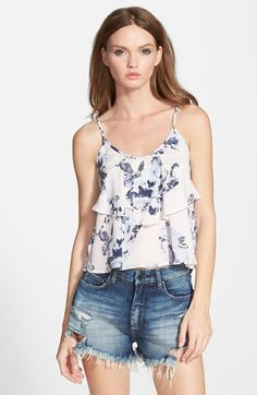 ASTR Tiered Ruffle Tank available at #Nordstrom $44