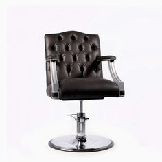 The WBX Beaumont is an elegantly designed Styling unit with a comfortable high quality feel. Salon Chairs, Salon Furniture, Barber Chair, Barbers, Wood Colors, Europe, Jeans, Design, Home Decor