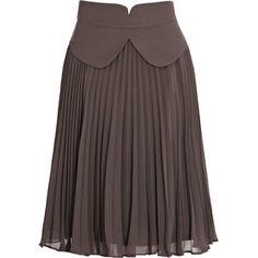 Reiss Hula Fully Pleated Skirt