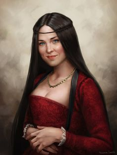 Scarlet Gregor by fdasuarez.deviantart.com on @deviantART