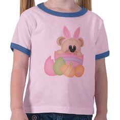 Cartoon Easter Bear Holiday T-shirt
