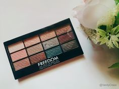 Freedom Pro 12 Romance and Jewels Eye shadow Palette