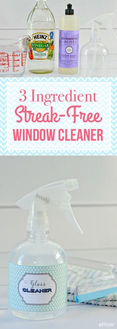 All-natural 3-ingredient window cleaner that you will LOVE so much you will never need to buy store-bought cleaners again! Recipe for a streak-free shine here: http://www.ehow.com/how_4892934_homemade-streak-window-cleaner.html?utm_source=pinterest.com&utm_medium=referral&utm_content=freestyle&utm_campaign=fanpage