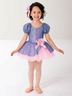 Thank Heaven for Little Girls - Style 0128 | Revolution Dancewear Children's Dance Recital Costume