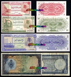 lybia currency   Libya banknotes - Libya paper money catalog and Libyen currency ...
