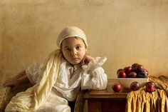Photographer uses his five-year-old as the model for recreating various master pieces. Wow!