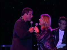 """THEY'VE STILL GOT IT EVEN AFTER ALL THESE YEARS!  """"You're the One that I Want""""  1998  John Travolta and Olivia Newton John"""
