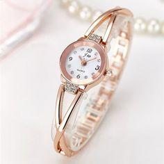New Fashion Rhinestone Watches Women Luxury Brand Stainless Steel Bracelet http://s.click.aliexpress.com/e/Iu3RZrBqJ