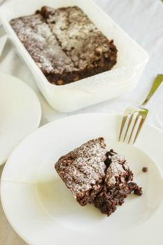 Vegan Chocolate Brownies | #recipe #vegan #dessert | http://thecookiewriter.com