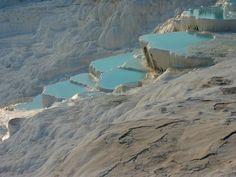 Pamukkale Turkey Thermal Pools