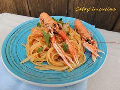Pasta scampi e melanzane - Sabry in cucina